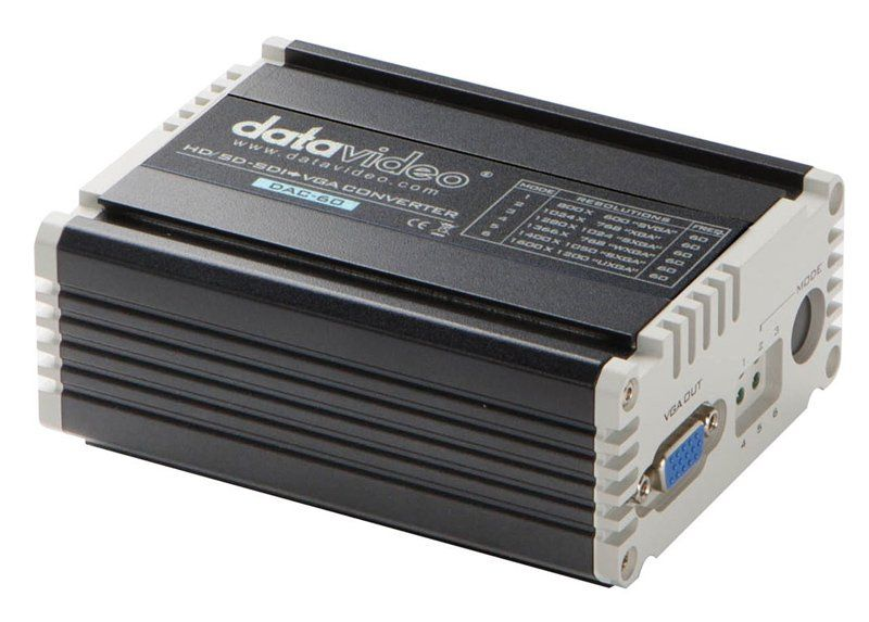 Мини конвертер SDI-VGA Data Video DAC-60